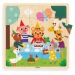Puzzle Cadre en Bois - Puzzlo Happy
