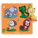 Puzzle en Bois - Mamijungle