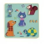 Puzzle en Bois - Moustacha
