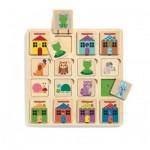 Puzzle en Bois - Puzzle Cabanimo