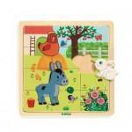 Puzzle en Bois - Puzzlo Farm