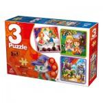 Deico-Games-76540 3 Puzzles - Contes et Légendes
