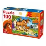 Puzzle  Deico-Games-76588 Animaux de la Ferme