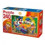 Puzzle  Deico-Games-76595 Blanche Neige et les 7 Nains