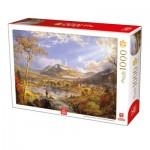 Puzzle  Deico-Games-76694 Francis Cropsey - Starrucca Viaduct Pennsylvania
