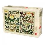 Puzzle  Deico-Games-76786 Encyclopédie Papillons