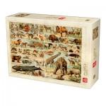 Puzzle  Deico-Games-76793 Encyclopédie Animaux Sauvages