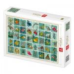 Puzzle  Deico-Games-77165 Pattern Aquatic Animals