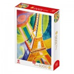 Puzzle  Deico-Games-77554 Robert Delaunay - Tour Eiffel