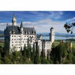 Puzzle  DToys-50328-AB02 Allemagne - Château de Neuschwanstein