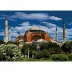 Puzzle  Dtoys-50328-AB04-(69252) Turquie - Istanbul : Hagia Sophia
