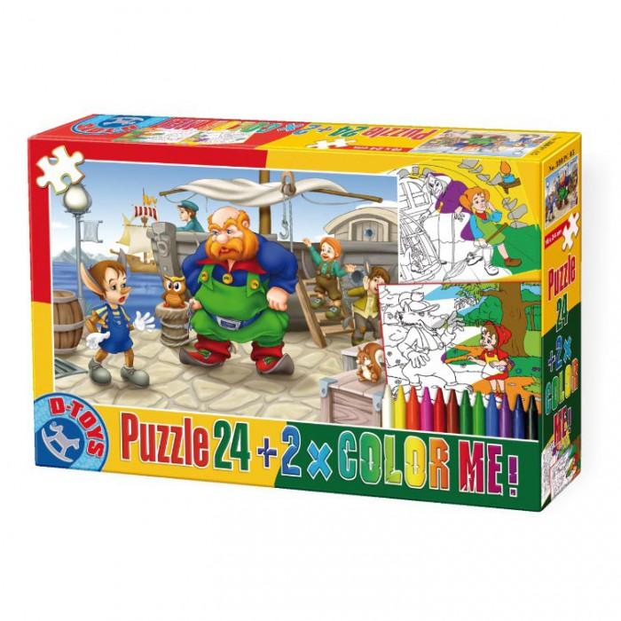 Color Me : Pinocchio + 2 dessins à colorier
