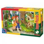 Puzzle  Dtoys-60372-PV-01 Pièces XXL : Hansel et Gretel