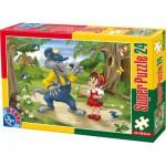 Puzzle  Dtoys-60372-PV-02 Pièces XXL - Le Petit Chaperon Rouge