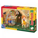 Puzzle  Dtoys-60389-PV-02 Pièces XXL : Hansel et Gretel