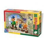 Puzzle  Dtoys-60402-PV-01 Pièces XXL : Pinocchio
