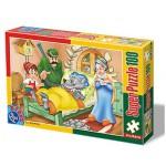 Puzzle  Dtoys-60402-PV-02 Pièces XXL : Le Petit Chaperon Rouge