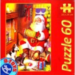 Puzzle  Dtoys-60709-XM-01 Le Père Noël