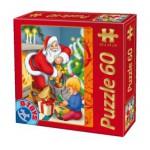 Puzzle  Dtoys-60709-XM-02 La remise des cadeaux de Père Noël