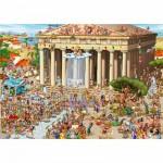 Puzzle  DToys-61218-CC04-(70890) Cartoon Collection - Acropole