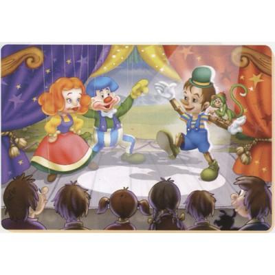 Puzzle Dtoys-61430-BA-01 Contes et Légendes : le spectacle de Pinocchio