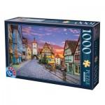 Puzzle  Dtoys-62154-EC17 Rothenburg, Allemagne