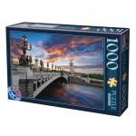 Puzzle  Dtoys-62154-EC18 Pont Alexandre III, Paris