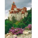 Puzzle  DToys-63038-MN06 Roumanie : Château de Bran