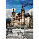 Puzzle  DToys-63038-MN08-(70739) Roumanie : Château de Peles