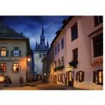 Puzzle  DToys-63038-MN10 Roumanie : Schasburg, Sighisoara