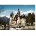Puzzle  DToys-63052-RM01 Roumanie : Château de Peles