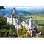 Puzzle  DToys-64288-FP02 Allemagne - Château de Neuschwanstein