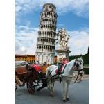 Puzzle  DToys-64288-FP03-(70647) Italie - Tour de Pise