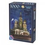 Puzzle  Dtoys-64301-NL10 Russie, Moscou : Cathédrale Saint-Basile-le-Bienheureux