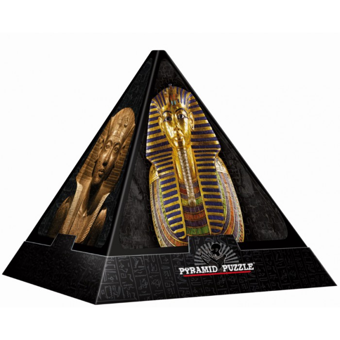 Pyramide 3D - Egypte : Masques égyptiens