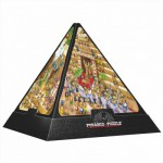 Puzzle  Dtoys-65964-PC01-(65964) Pyramide 3D - Egypte : Cartoon