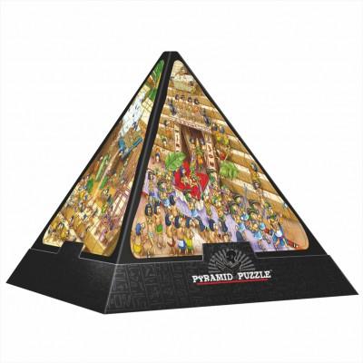 Puzzle Dtoys-65964 Pyramide 3D - Egypte : Cartoon