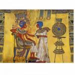 Puzzle  Dtoys-65971-EY01-(65971) Egypte ancienne - Fresque (détail)