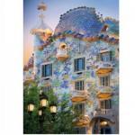 Puzzle  DToys-65995-DE04 Espagne - Barcelone : Casa Batllo