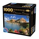 Puzzle  Dtoys-65995-DE07 Discover Europe - Côme, Italie