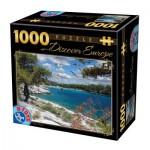 Puzzle  Dtoys-65995-DE08-(74898) Discover Europe - Corfu