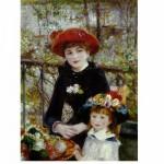 Puzzle  DToys-66909-RE01 Renoir Auguste - Sur la terrasse
