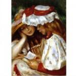 Puzzle  DToys-66909-RE02 Renoir Auguste - Deux jeunes filles lisant