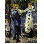 Puzzle  DToys-66909-RE03-(70333) Renoir Auguste - La balançoire