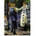 Puzzle  DToys-66909-RE03 Renoir Auguste - La balançoire