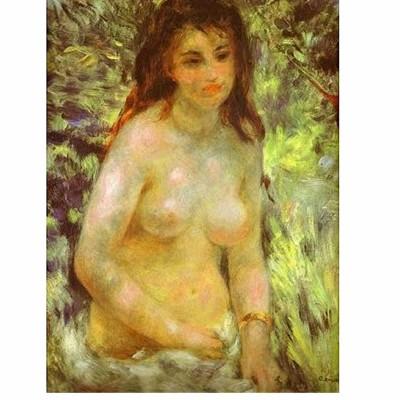 Puzzle Dtoys-66909-RE04-(70326) Renoir Auguste - Nu au soleil