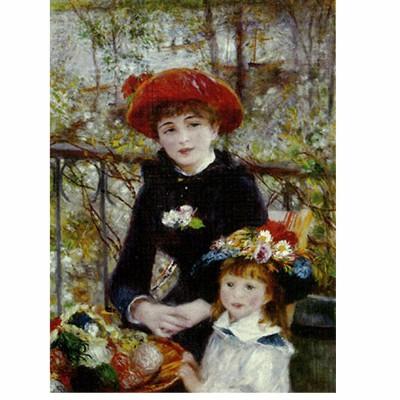 Puzzle Dtoys-66909 Renoir Auguste - Sur la terrasse