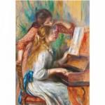 Puzzle  DToys-66909-xxRE09 Renoir Auguste - Jeunes filles au piano