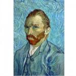 Puzzle  DToys-66916-VG05 Van Gogh Vincent - Autoportrait