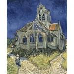 Puzzle  DToys-66916-VG10-(70173) Van Gogh Vincent - L'Église d'Auvers-sur-Oise